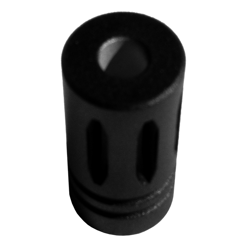 Fake flash hider for s w m p with non threaded barrels
