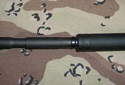 Fake Suppressor for S&W M&P15-22 with Non-threaded Barrels - 4.5 Inch