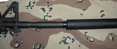 Fake Suppressor for S&W M&P15-22 with Non-threaded Barrels - 6 Inch