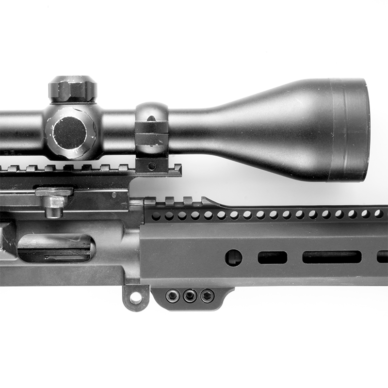 Quot s w m p free float handguard with picatinny rail